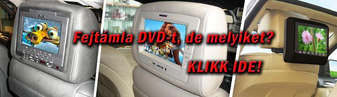 Fejtámla DVD ismertető