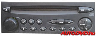 Blaupunkt/VDO RD3 (2001-2004)