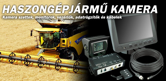 Haszongépjármű kamera rendszerek