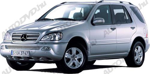 Mercedes ML, W163 (1997-2005)