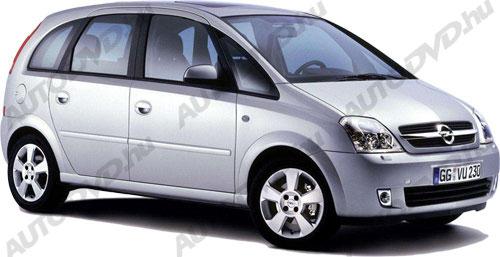 Opel Meriva A (2002-2010)