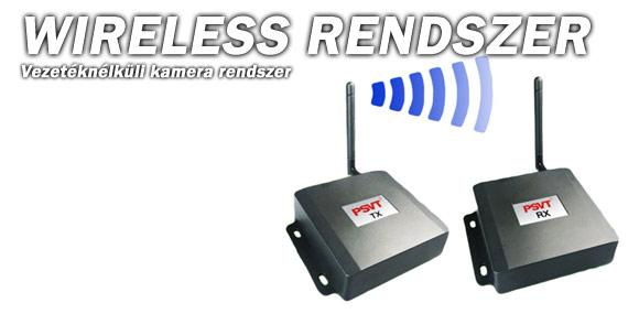 Wireless rendszer