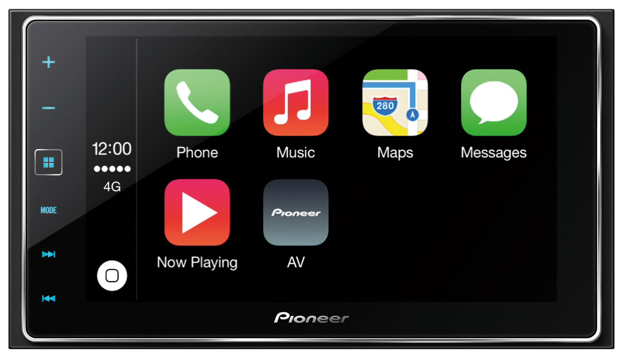 Pioneer SPH-DA120 2 DIN Fejegység, Apple CarPlay, AppRadio