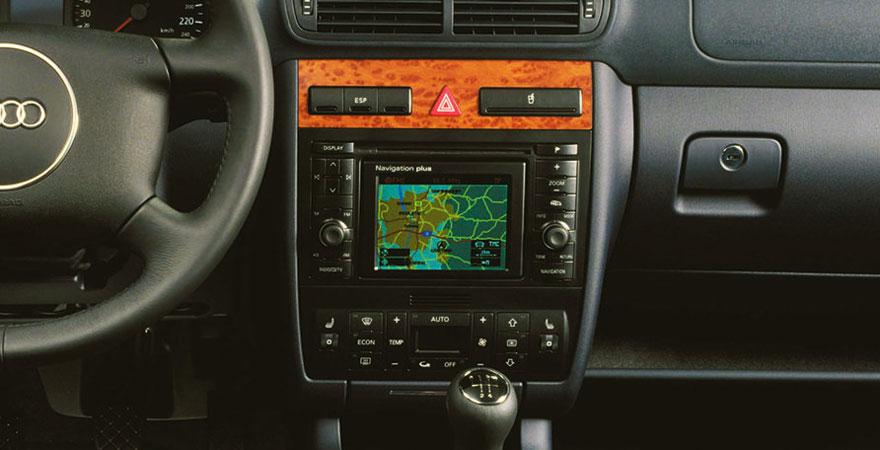 Audi A3, 2 DIN (2000-2003)