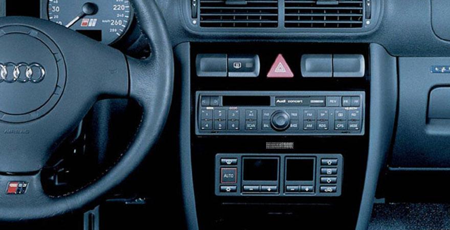 Audi A3, 1 DIN (1996-2000)