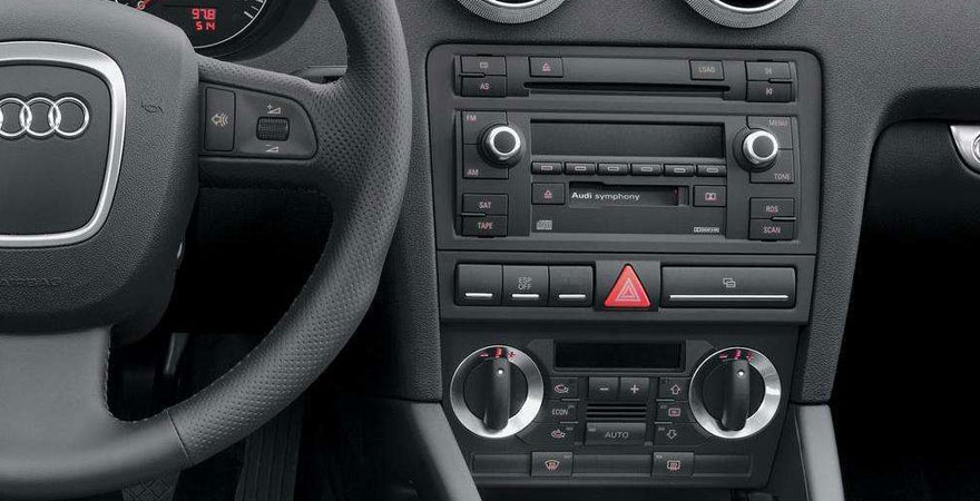 Audi A3, 2 DIN (2003-2013) Csatlakozók