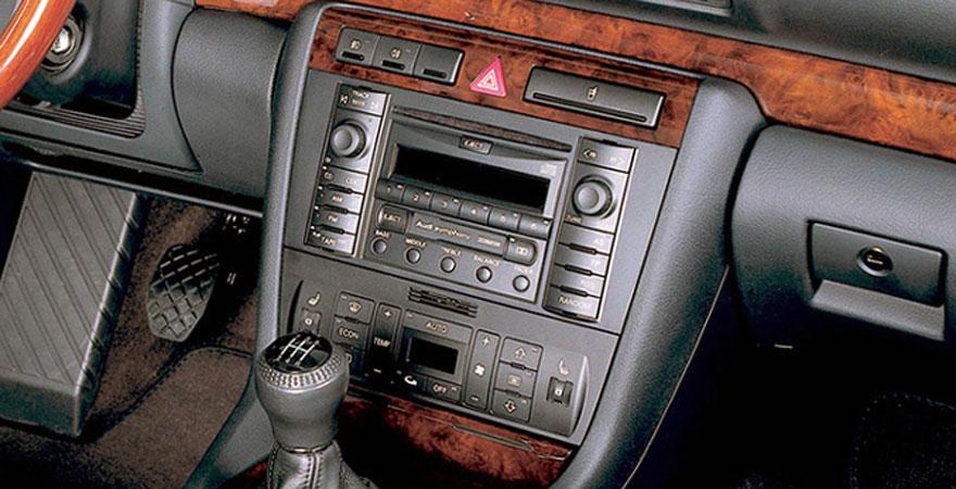 Audi A4, 2 DIN (1999-2001)
