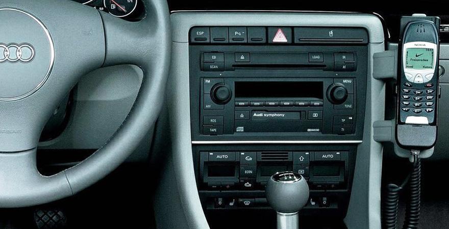 Audi A4 2 Din Rádió Keret