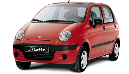 Daewoo Matiz (1998-2002)