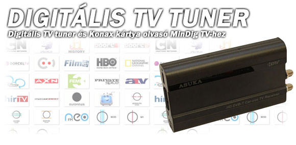 Digitális TV Tuner