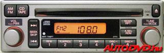 2.3 CD tár csatlakozós rádiók (1996-2001)
