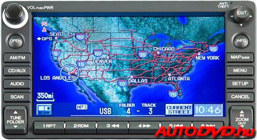 Navigáció (2008-2013)