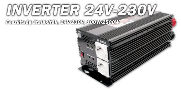 Inverter 24V/230V