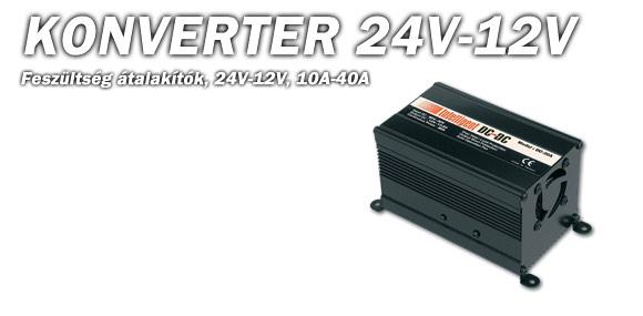 Konverter 24V/12V