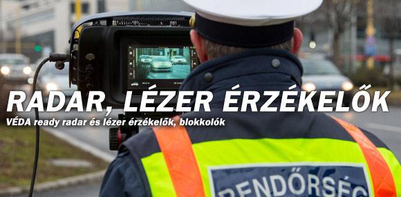 Lézer/Radar érzékelők