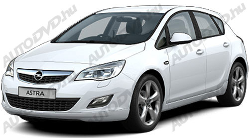 Opel Astra J 3/4/5D
