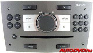 CD 30 MP3, AUX (2005-2011)