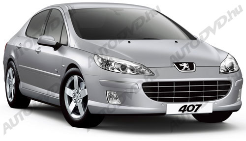 Peugeot 407 Coupe/4D