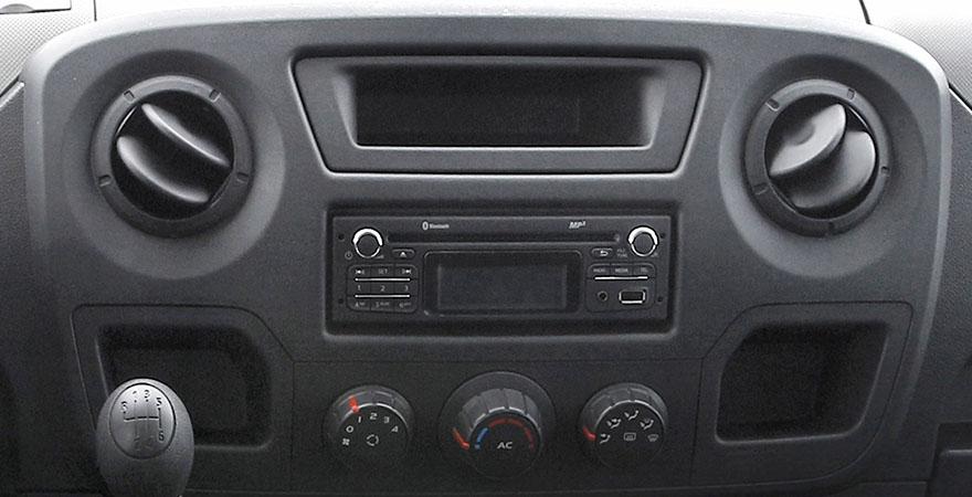 Renault Master, 1 DIN (2010-2019)