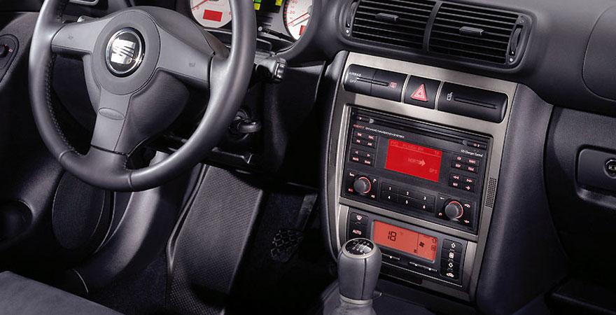Seat Toledo, 2 DIN (1998-2005)