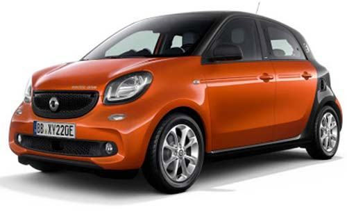Smart Fortwo / ForFour, W453 (2014-)