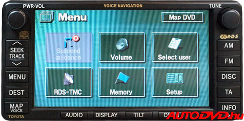 Navigáció (2003-2006)