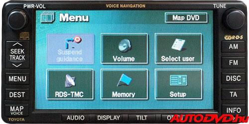 Navigáció, 6+6 csatlakozós (2003-2005)