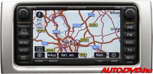 Navigáció (2004-2009)