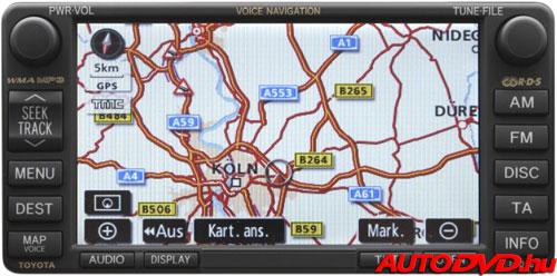 Navigáció, 6+6 csatlakozós (2005-2011)