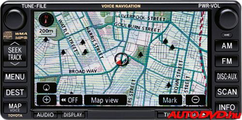 Navigáció 2, 6+6 csatlakozós (2003-2007)