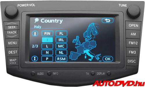 Navigáció, 6+6 csatlakozós (2005-2012)